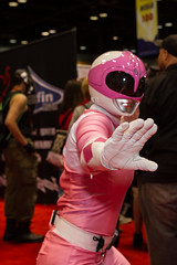 "Pink Ranger #cosplay #C2E2 2015 • <a style=""font-size:0.8em;"" href=""http://www.flickr.com/photos/33121778@N02/17076008997/"" target=""_blank"">View on Flickr</a>"