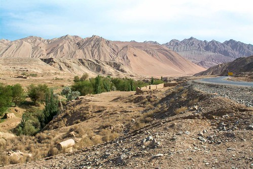 Turpan Flaming Mountains