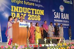 Sairam Engineering College - Induction Function