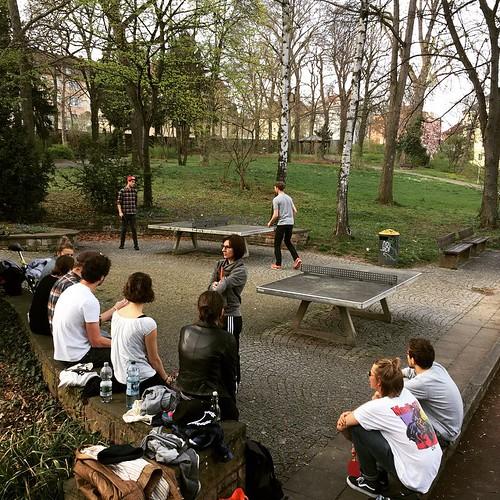 #PingPong im #Park #0711 #Stuttgart #Tischtennis
