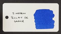 J. Herbin Eclat de Saphir - Word Card