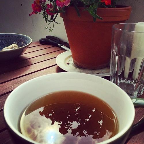 #Sonne in meinem Tee  #sun in my #tee