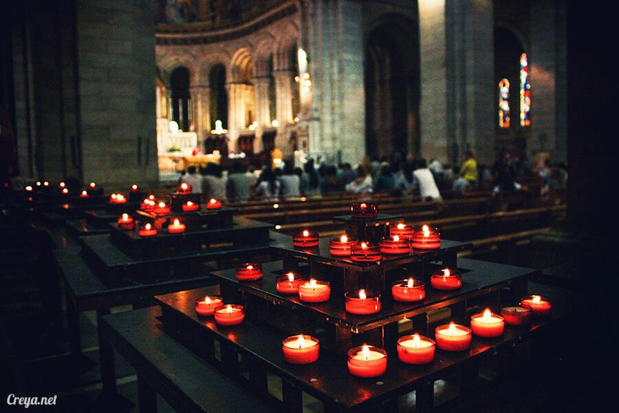 2016.10.02   看我的歐行腿  法國巴黎一日雙聖,在聖心堂與聖母院看見巴黎人的兩樣情 12