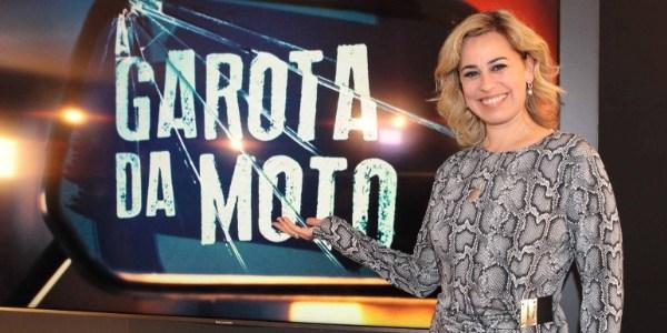 """Daniela Escobar volta à TV como vilã da série """"A Garota da Moto"""""""