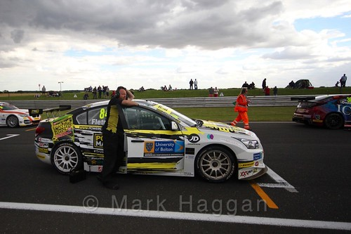 Kelvin Fletcher's car during the Grid Walks at the BTCC 2016 Weekend at Snetterton