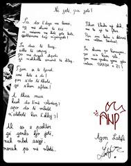 WrittenletterBW