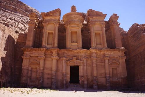 "Pétra - الدير Al Deir, ""le Monastère"""