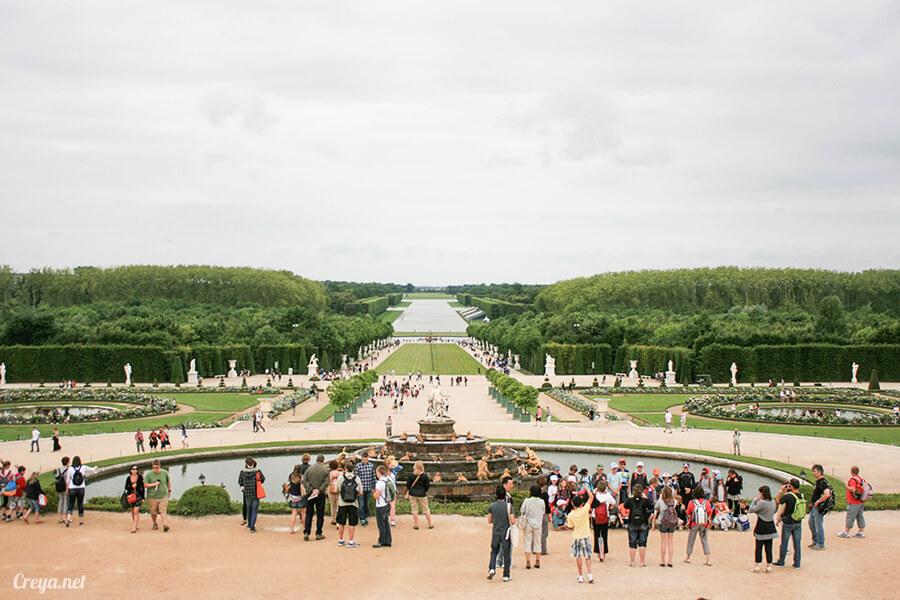 2016.08.14   看我的歐行腿  法國巴黎凡爾賽宮 21