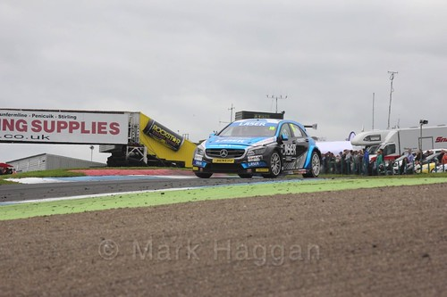 Aiden Moffat in BTCC race two at Knockhill Weekend 2016