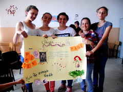 Kids Presenting Peace Posters 2