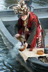 Roger Smudging the River
