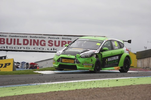 Stewart Lines in BTCC race 2 during the Knockhill Weekend 2016