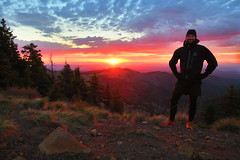 Sunrise over Mt. Taylor