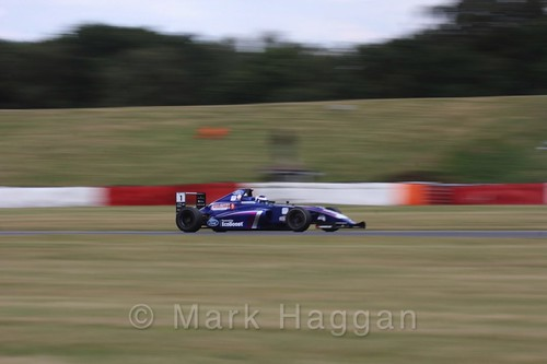 Devlin DeFrancesco  in British Formula 4 during the BTCC 2016 Weekend at Snetterton