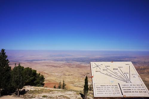 Vallée du Jourdain vue du Mont Nébo