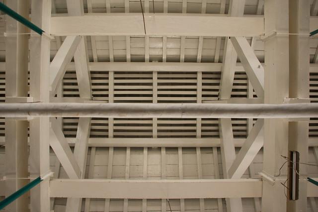 繰糸場の天井