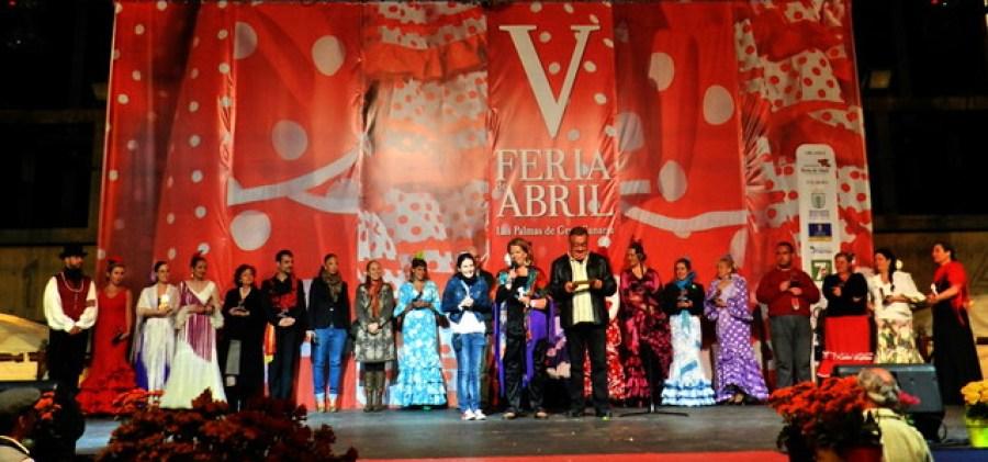 Despedida participantes V Feria de Abril Las Palmas de Gran Canaria 2012 01