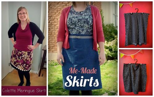 Me-Made Skirts