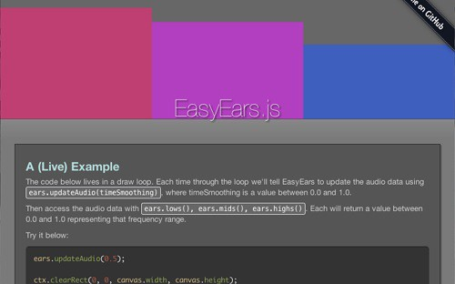 EasyEars.js