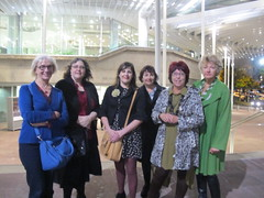 Christchurch bloggers meet writers festival people