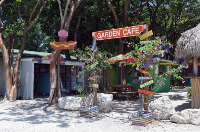El fantástico Garden Cafe