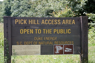 Pick Hill Sign