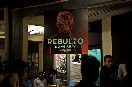 Dong Abay Rebulto Album Launch at Cubao X