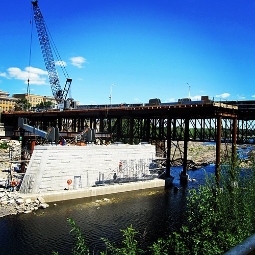 University Avenue Bridge Progress