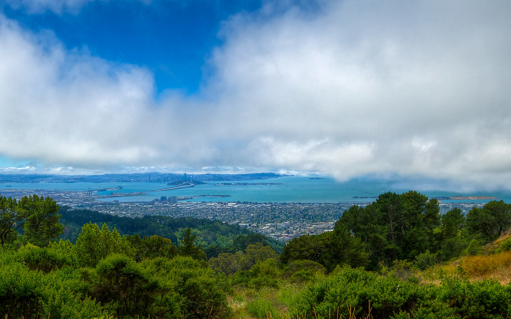 East Bay From the Hills