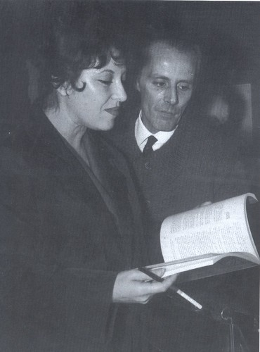 Natália Correia e Mário Cesariny by lusografias