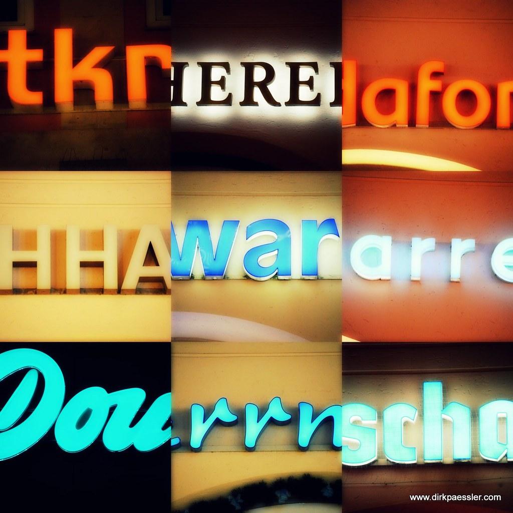 Neon Lights by Dirk Paessler