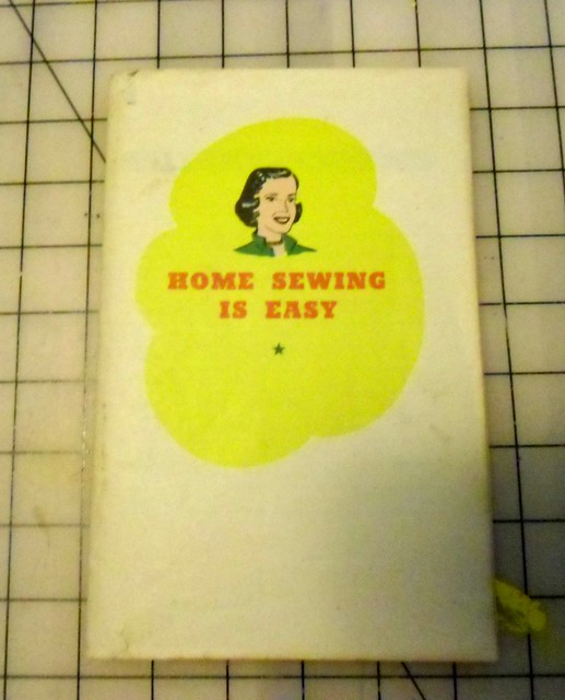 Home Sewing Is Easy book