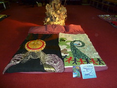 Story blanket display at Rehua