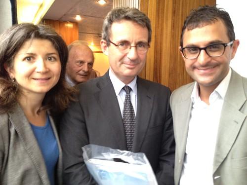 Réunion sur l'Union Européenne avec Jean-Christophe Fromantin (député maire de Neuilly), Emilie Quintin et Arash Derambarsh by Arash Derambarsh