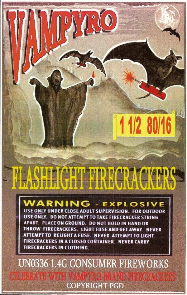 Monster Brains Vintage Firecracker Art