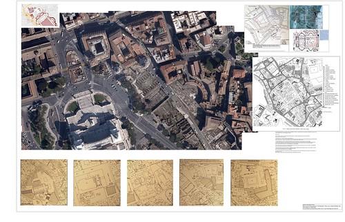 ROMA ARCHAEOLOGIA: Roma zona dei Piazza Venezia e Fori Imperiali - Chiese, Case, e Strada (Il Pantini e Via Alessandrina [ca. 1450-2012]). A cura di Alvaro de Alvariis (Roma 2012) e M. G. Conde (Washington DC 2011-12). [4.5mb / Originale (7536 x 4848)]. by Martin G. Conde