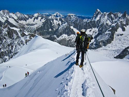 Mont Blanc por la ruta de los cuatromiles (4/6)