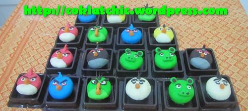 Minicupcake Angry Bird