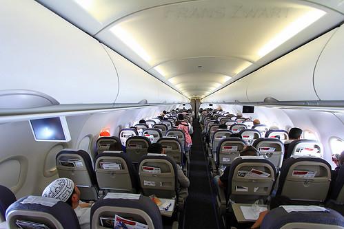 Gulf Air A320 inflight  GF509 Bahrain to Dubai All