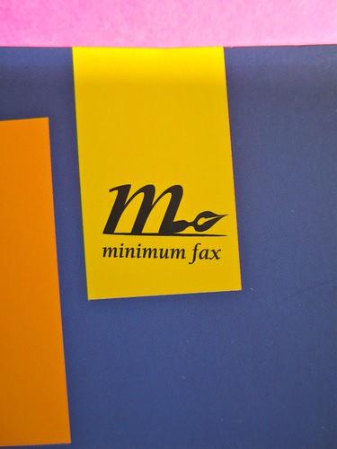 minimum fax / mini. Progetto grafico: Riccardo Falcinelli. 2