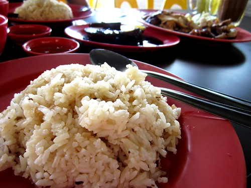 Chopsticks chicken rice