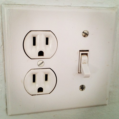 Shock face wall plugs!!