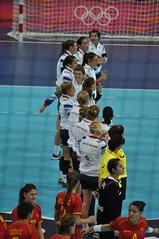 Team GB looking proud