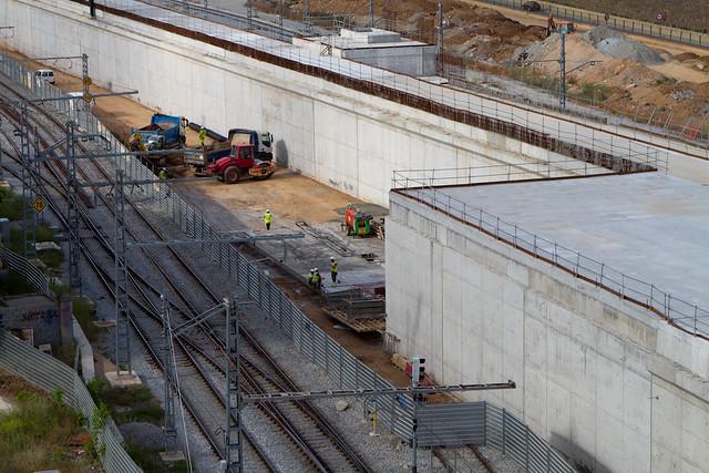 Nueva estación de Sant Andreu - 16-05-12