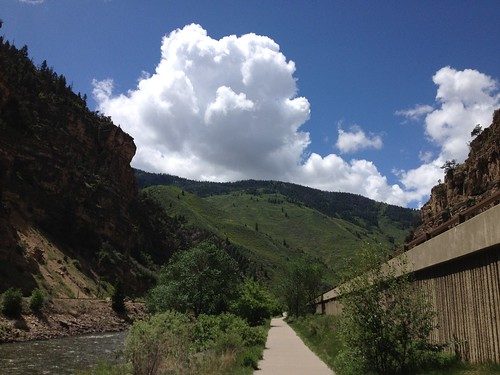 Big Cloud, Glenwood canyon