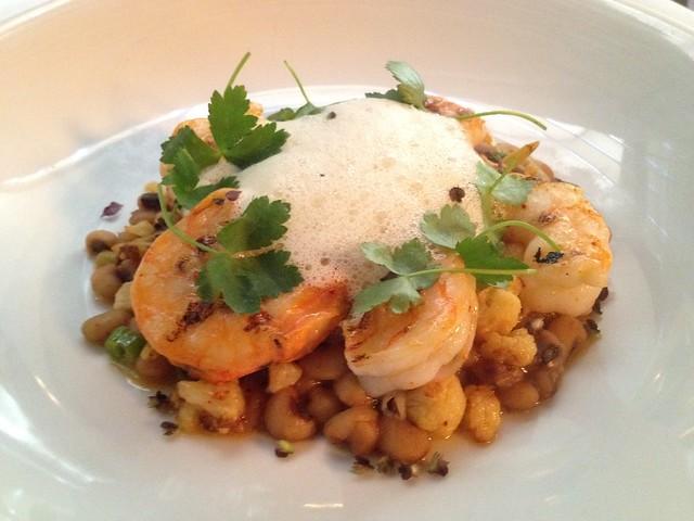 Charleston shrimp - McCrady's Restaurant