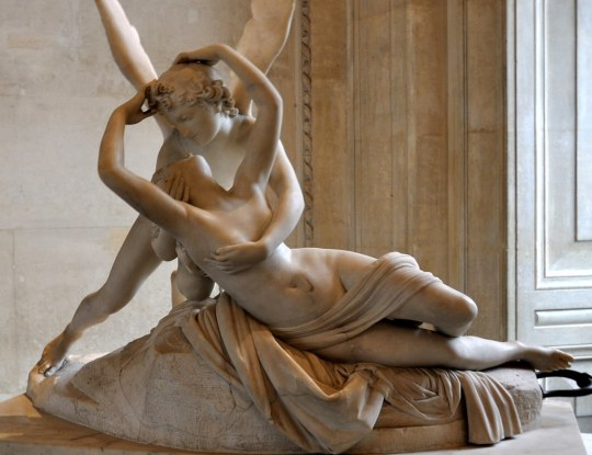 Image result for sculpture psyche and cupid