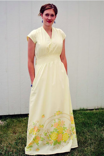 Running With Scissors_ Maxi Sheet Dress Sewing Pattern