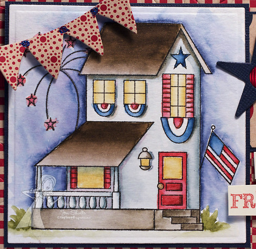 Yankee Doodle House Detail