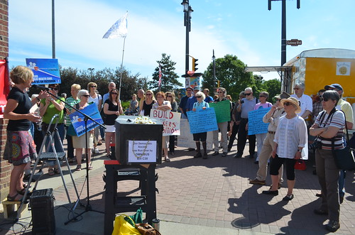 Seniors Protest Bill C-38